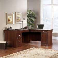 Sauder Heritage Hill 60 Executive Desk by L Shaped Computer Desk In Cherry 413670