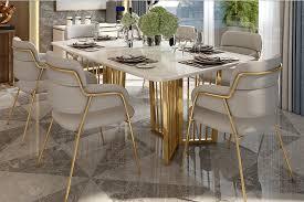 luxus designer esstisch set lattice lionsstar gmbh