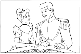 Cinderella Coloring Pages 468908 For Free 2015