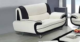 canape blanc noir canape 3 places blanc canape cuir design 3 places canape blanc ikea