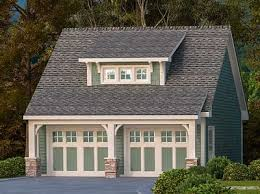 Shed Dormer Plans by 2 Car Garage With Shed Dormer 29869rl Architectural Designs