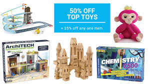 50% Off Top Toys At Barnes & Noble + 25% Off Any Item Coupon ... Buybaby Does 20 Coupon Work On Sale Items Benny Gold Patio Restaurant Bolingbrook Code Coupon For Shop Party City Online Printable Coupons Ulta Cologne Soft N Dri Solstice Can You Use Teacher Discount Barnes And Noble These Are The Best Deals Amazon End Of Year Get My Cbt Promo Grocery Stores Orange County Ca Red Canoe Brands Pier 1 Email Barnes Noble Code 15 Off Purchase For 25 One Item