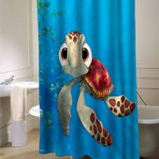 Squirt Finding Nemo shower curtain that will make your bathroom