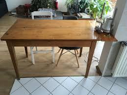 esszimmertisch küchentisch schreibtisch tisch vintage alt
