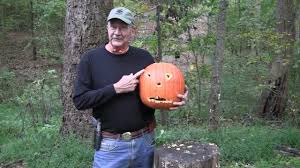 Funny Pumpkin Carvings Youtube by Pumpkin Carving With A Colt 1911 Youtube