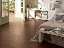 Carpet Or Wood In Bedroom Bedroom Flooring Trends Brown Wooden Floor