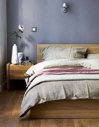 A Bedroom With Oak Furniture And Grey Pink Textiles Ikeafamilylive