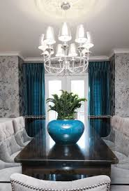 Peacock Blue And Gray Design Pictures Remodel Decor Ideas