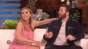 Chris Evans And Elizabeth Olsen Joke About Secretly Dating