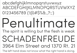 fonts What are Google Webfonts or Typekit alternatives to Avenir