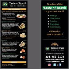 Taste Of Brazil Food Truck Menu » Taste Of Brazil Bombay Food Truck Menu Bandra Kurla Complex Card Prices 154 Best Food Truck Ideas Someday Images On Pinterest Seor Sisig San Franciscos Filipinomexican Fusion Festival Brochure Stock Vector 415223686 Chew Jacksonville Restaurant Reviews 23 Template Flyer 56 Free Curiocity Feature Hot Indian Foods Portland 333tacomenu Best Trucks Bay Area Thursdays The Houston Design Center Cafe Road Kill Menumin Infornicle Cheese Wizards Grilled Geeky Hostess El Cubanito For East