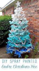 Taylor And I Picked Up This White Christmas Tree For Only 2 At A Garage Sale Back In The Summer Weve Been Saving It Good DIY Project Like