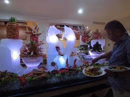 cuisine gala gala sea food thursday ร ปถ ายของ luxury bahia principe