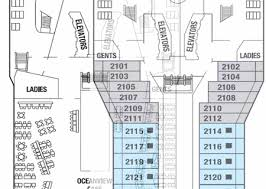 cruise deck plan database and pictures