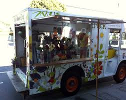 Trucks Serving Up Gastronomic Choices Comparable To Those Found At Three And Four Star Restaurants The Flower Truck A Los Angeles Mobile Shop