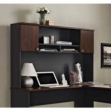 Ameriwood L Shaped Desk With Hutch by Altra Furniture The Works Contemporary L Shaped Desk With Hutch