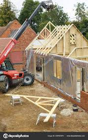 100 House Trusses Buckingham October 2016 Heavy Machinery Used Add Roof Timber
