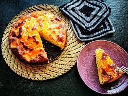 schneller rührkuchen mit quark und mandarinen