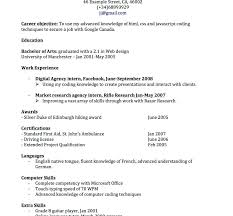 Resume Examples Canada Download Samples 2018