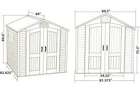 Rubbermaid Roughneck 7x7 Storage Shed by Astonishing Lifetime 7x7 Storage Shed 39 For Rubbermaid Roughneck