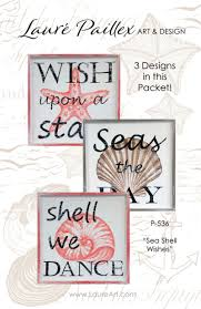100 Sea Shell Design Wishes