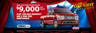 All New Ford Specials In Houston | Tomball Ford