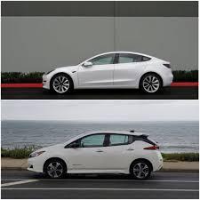 Tesla Model 3 Standard Range Vs Nissan Leaf Plus What You Get For