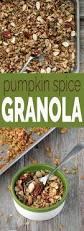 Pumpkin Flaxseed Granola Nutrition Info by Naturally Sweetened Pumpkin Spice Granola