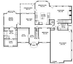 The Two Story Bedroom House Plans by 654043 Two Story 5 Bedroom 4 5 Bath Traditional Style