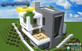 Minecraft Living Room Ideas by Simple Modern House Minecraft Simple Modern House Minecraft
