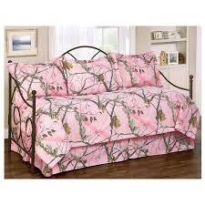 Realtree AP Pink Camo Daybed Cover Set RT Kimlor