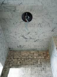 tile insert linear shower drain style home design gallery with
