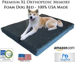 Extra Large Orthopedic Dog Bed by Xl Orthopedic Gel Memory Foam Pet Bed Dog U0026 Puppy Supplies