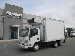 2011 ISUZU NPR REEFER TRUCK FOR SALE #4502