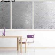 high quality opaque privacy verglasung fenster folie dekorative statisch haftenden fenster aufkleber wohnzimmer badezimmer 45 200 cm ff