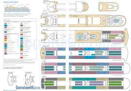 Norwegian Dawn Deck Plan 11 by P U0026o Cruises 2012 2013 Deck Plans