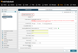 Solarwinds Web Help Desk Support by Enable Whd To Create Tickets From Incoming Email Solarwinds