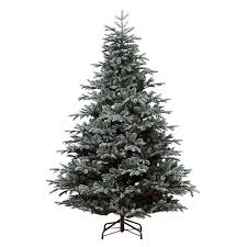 Artificial Christmas Trees Uk 6ft by Kaemingk 180cm 6ft Frosted Mountain Spruce Artificial Christmas