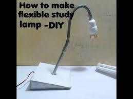 How To Make Flexible Study Lamp DIY