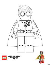 Robin From Lego Batman Movie Coloring Page