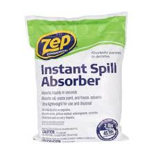 Zep High Traffic Floor Finish Sds by Zep 3 Lbs Instant Spill Absorber Zuabs3 The Home Depot