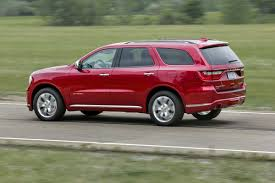 2015 Dodge Durango Captains Chairs by 2016 Dodge Durango Citadel Review More Of The Same In A Good Way