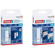 tesa powerstrips strips large wasserfest packung mit 6