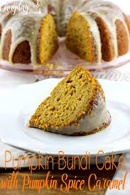 Pumpkin Spice Chex Mix by Pumpkin Bundt Cake With Pumpkin Spice Caramel Everyday Made Fresh