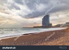 100 The W Hotel Barcelona Spain Barceloneta Beach View On Stock Photo Edit Now 1031987590
