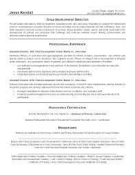 Sample Resume For Child Care Worker Caregiver Template