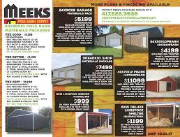 Loafing Shed Kits Utah by Products Pole Barns U0026 Buildings U2014 Meek U0027s Lumber And Hardware The