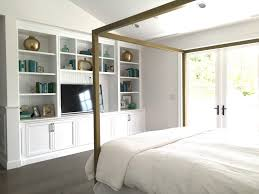 Twin Metal Canopy Bed Pewter With Curtains by Architecture Canopy Bed In Colors Modern Beds U0026 Platform Beds