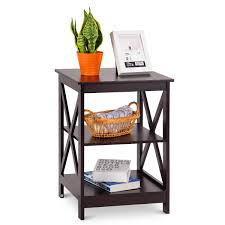 Cool White Wooden Bedside Table Side Kmart Lamps Metal Dark