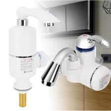 Elektrischer Wasserhahn Durchlauferhitzer 3000w Armatur Waschtisch Heimwerker Elektrischer Wasserhahn Instant